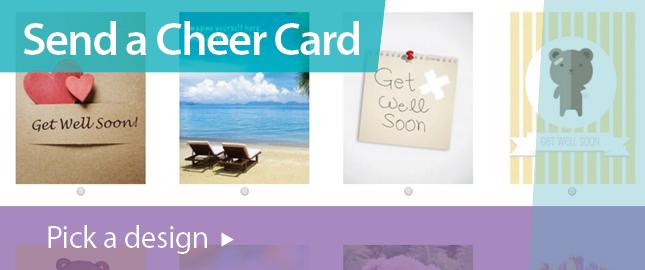 Send a Cheer Card