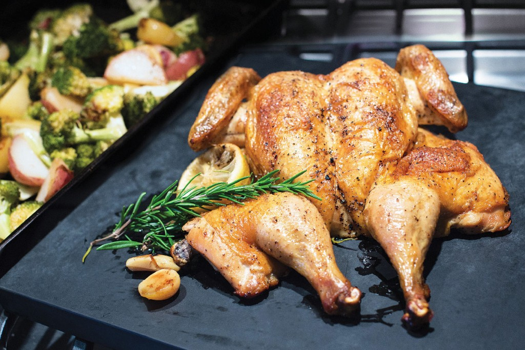 30-Minute Roasted Chicken