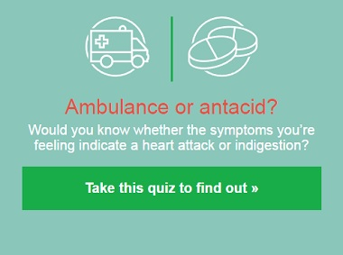 Ambulance or Antacid? Recognize Heart Attack Symptoms