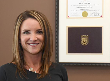 Cordell Blazes Path as Female Orthopedic Surgeon