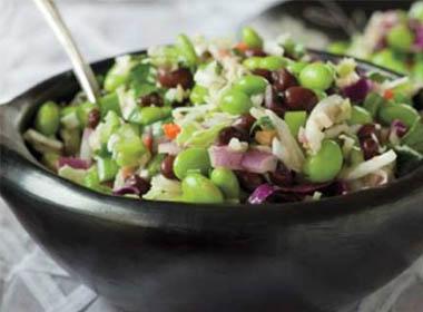 Edamame & Black Bean Salad