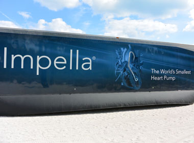 Heart Institute Hosts Impella Mobile Learning Lab