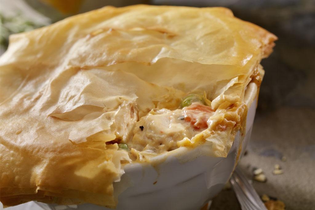 Re-Invented Turkey Potpie
