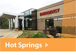 Emergency Room Hot Springs Arkansas