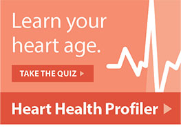 Health Tools - Learn Your Heart Age
