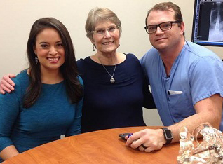 Scoliosis Surgery with Dr. Justin Seale Changes Life for Barbara McClintock