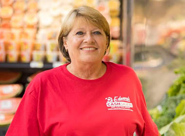 Staying on Her Feet is no Longer Painful for Local Grocery Store Manager