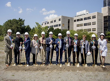 Breaking Ground on New Education and Research Center
