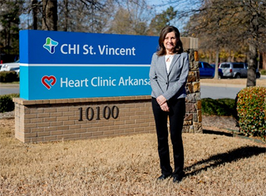 Marcia Atkinson Oversees Largest Cardiology Practice in State