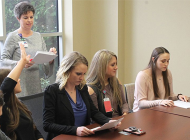 Nursing Students Commit to CHI St. Vincent Hot Springs