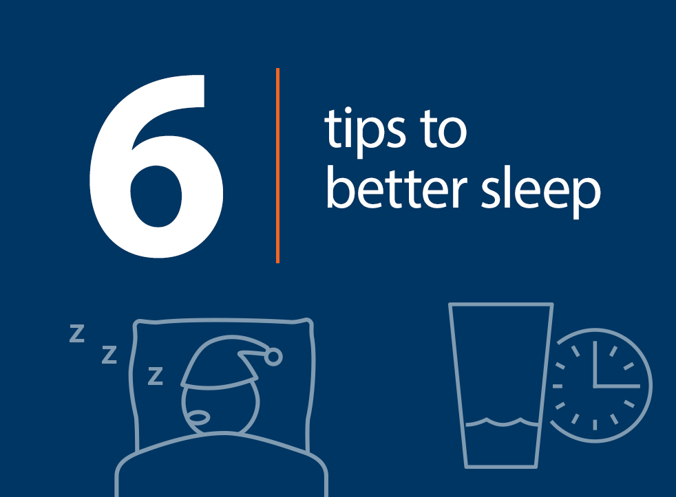 6 Tips to Better Sleep - The Key to Rejuvenating Rest