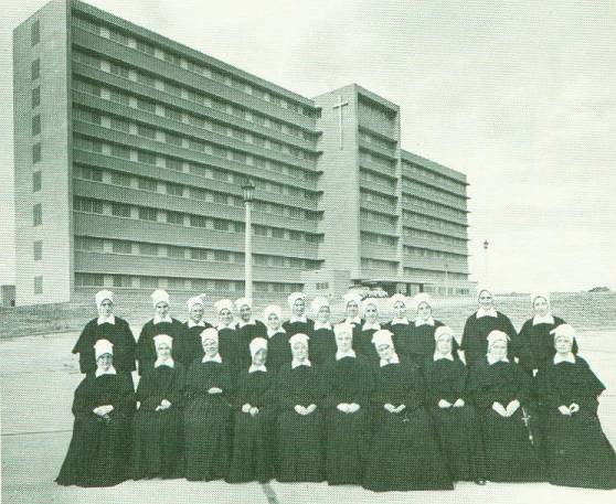 Sisters in the 1970s at Infirmary